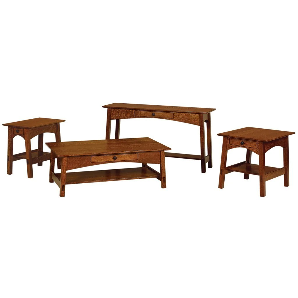 amish built sofa tables sleepers on sale mccoy table solid wood accent