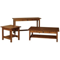 Amish Built Sofa Tables Minimal Wooden Springhill Table Solid Wood Accent