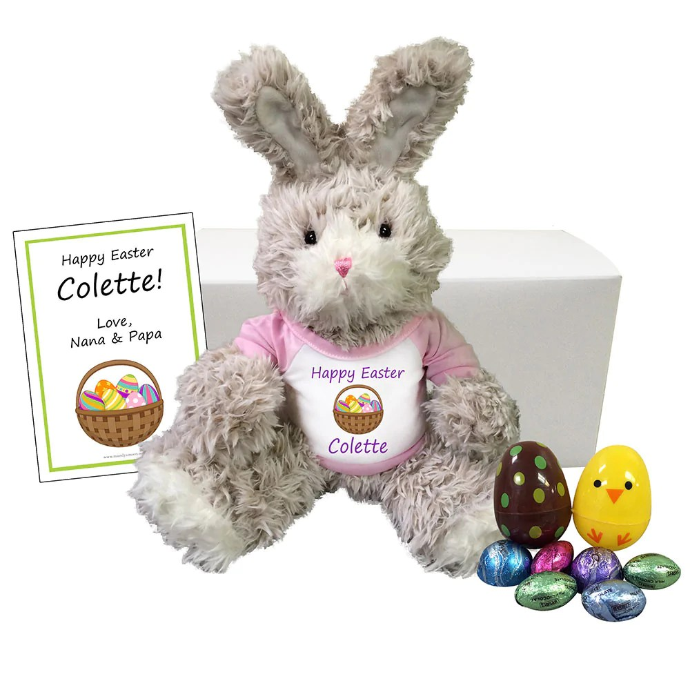 personalized easter bunny gift