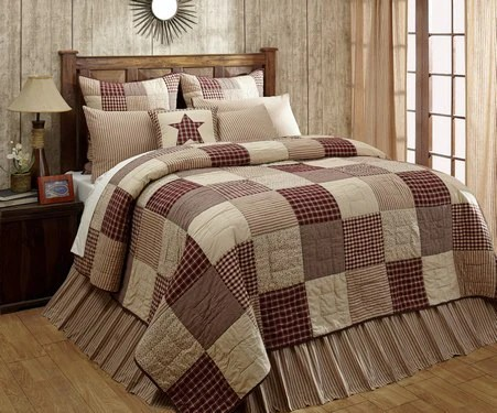 Cheston Quilted Bedding Only At Primitive Star Quilt Shop