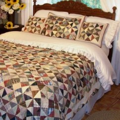 Kitchen Swags Hamptons Design Kaleidoscope Quilt | Retro Barn Country Linens