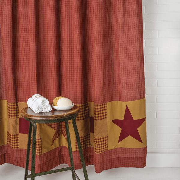 country shower curtains western