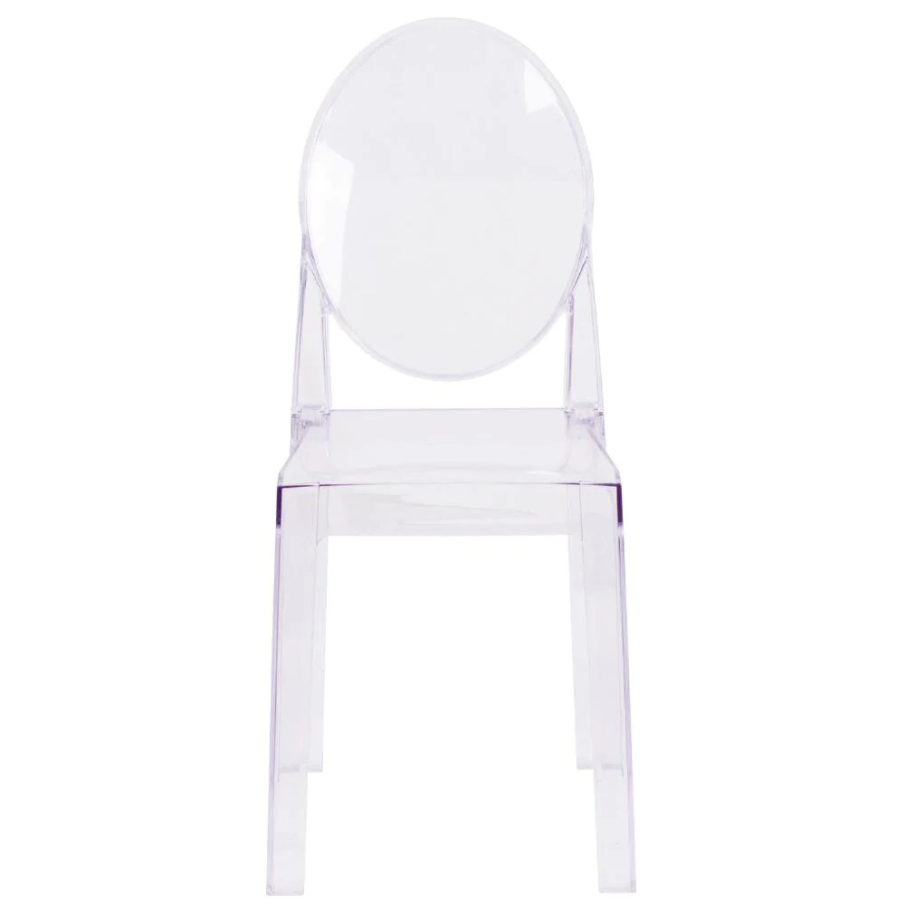 Lucite Chair Armless Ghost Chair