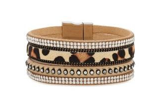NEW!! Lynx Faux Suede Cuff Bracelet
