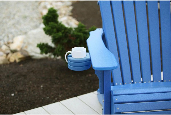 LuxCraft Recycled Plastic Porch SwingAdirondack