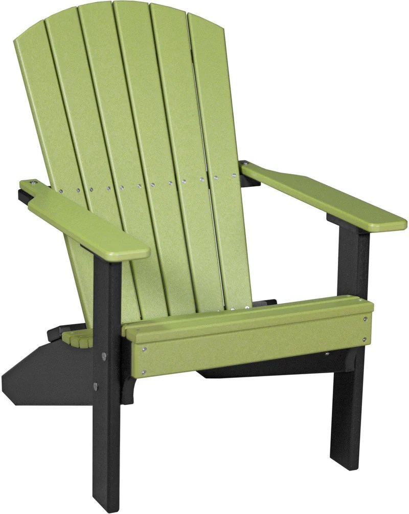 Luxcraft Adirondack Chair Recycled Plastic Lakeside Model