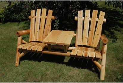 tete a chair outdoor back pain office moon valley rustic rocking furniture