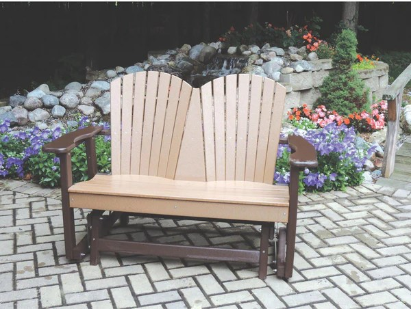 Perfect Choice Furniture Poly 2 Person Glider Chair