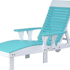 Plastic Lounge Chair Lime Green Pads Luxcraft Outdoor Recycled Model Rocking Furniture
