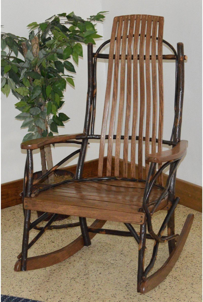 Amish Rocking Chair Amish Hickory Rocking Chairs Sale Year Of Clean Water