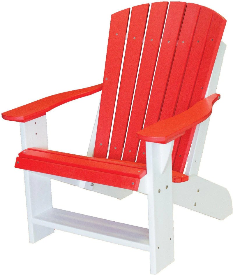 Wildridge LCC 114 Poly Heritage Adirondack Chair Rocking