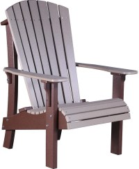 LuxCraft Recycled Plastic Royal Adirondack Chair - Rocking ...