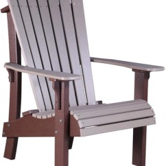 Rocking Chair Height Perfect Posture Luxcraft Adirondack Senior Furniture Recycled Plastic Royal