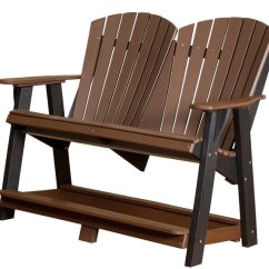 Trex Adirondack Rocking Chairs Office Chair Arms Too Wide Wildridge Outdoor Tall Double Bench - Furniture