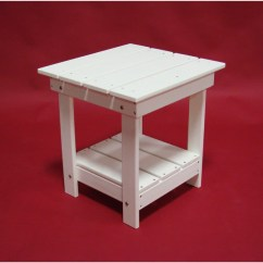Highwood Adirondack Chair Office Carpet Protector Tailwind Recycled Plastic Side Table - Outdoorsrockingchair.com