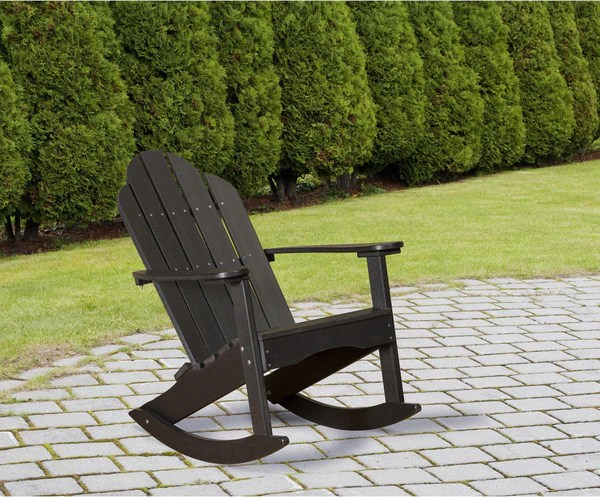 Wildridge Poly Classic Adirondack Rocking Chair