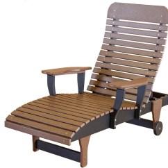 Trex Adirondack Rocking Chairs Teak Patio Wildridge Outdoor Recycled Plastic Chaise Lounge Chair - Furniture