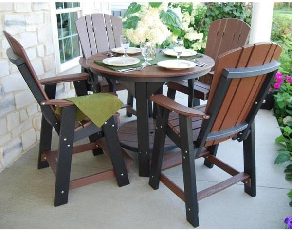 balcony height patio furniture chairs