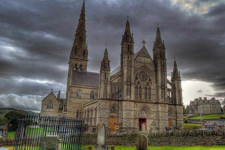 Saint Eunans Cathedral  Aran Sweaters Direct
