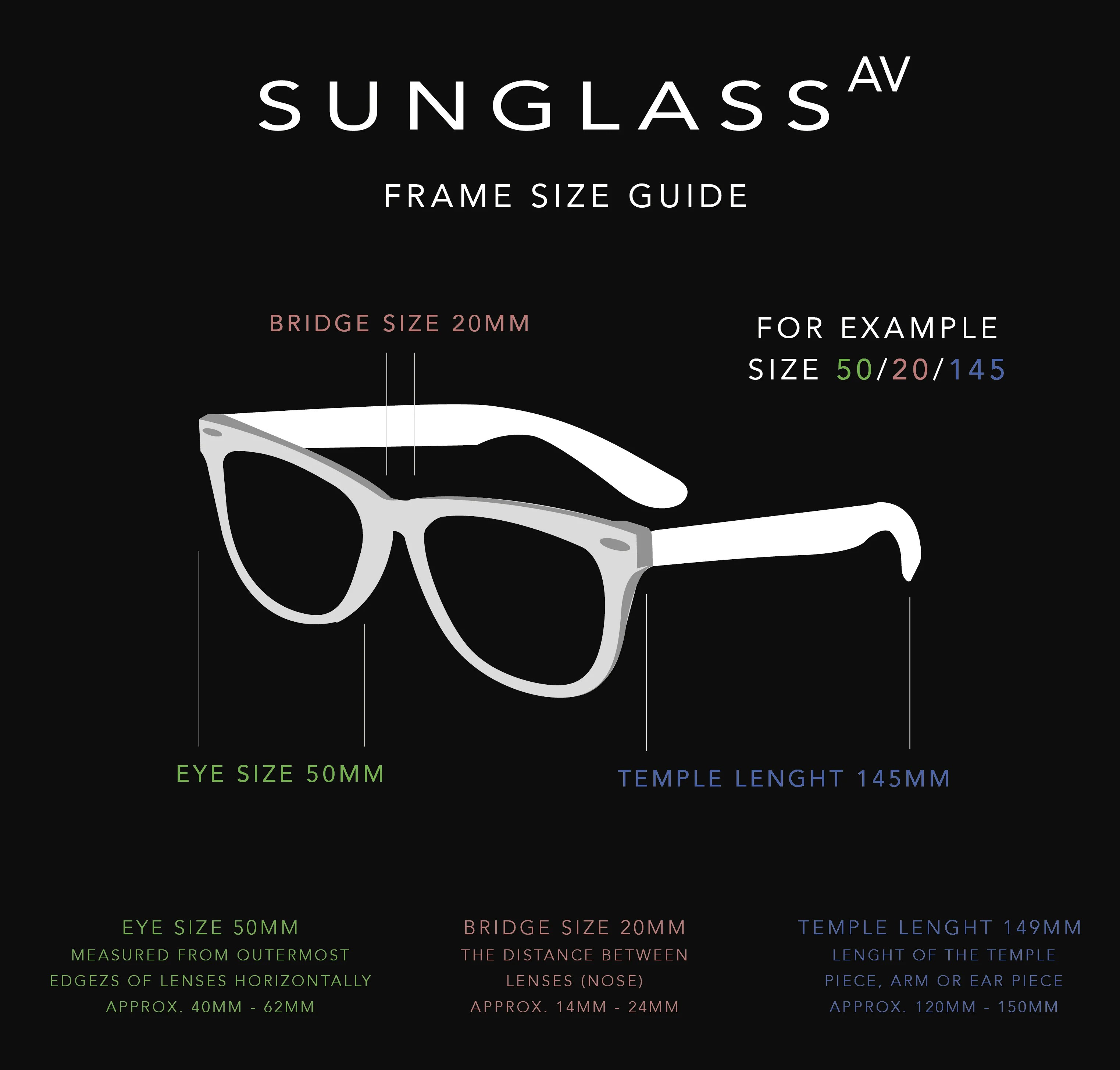 Size guide also sunglass boulevard elizabeth and james rh