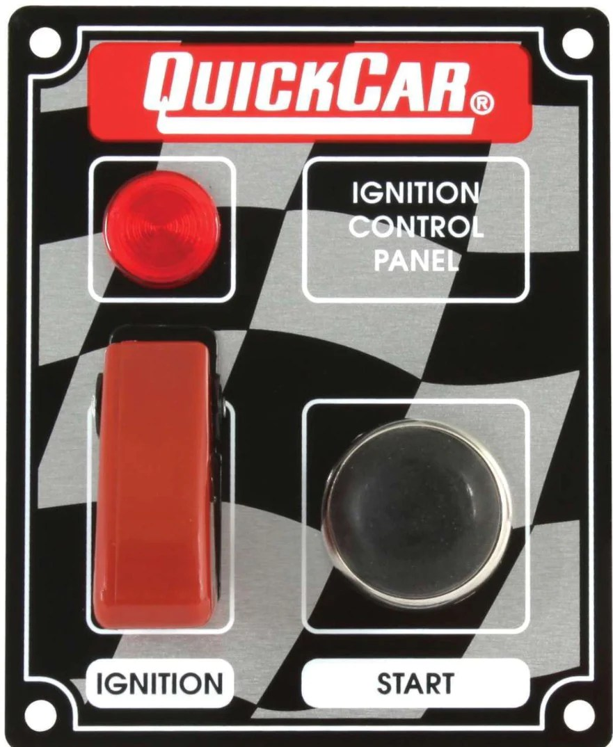 medium resolution of ignition control panel with flip switch ignition covers black or flag wedge motorsports