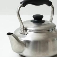 Kitchen Prep Cart Craigslist Cabinets Sori Yanagi Stainless Steel Tea Kettle - Rikumo