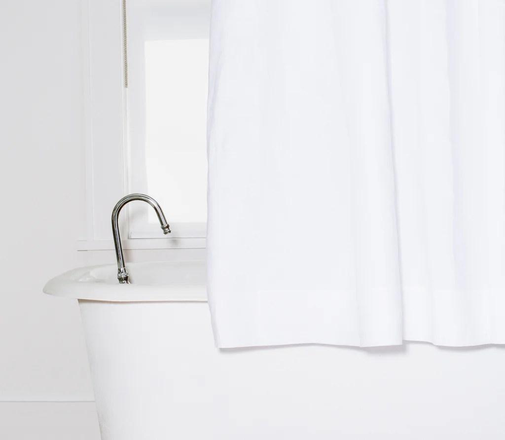shower curtains luxury linen shower curtain snowe