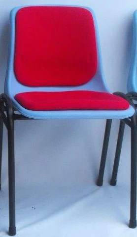 upholstered stacking chairs wedding chair covers ipswich 50no red forbesfurnituregroup