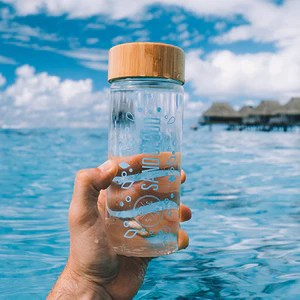bottles straws sand cloud