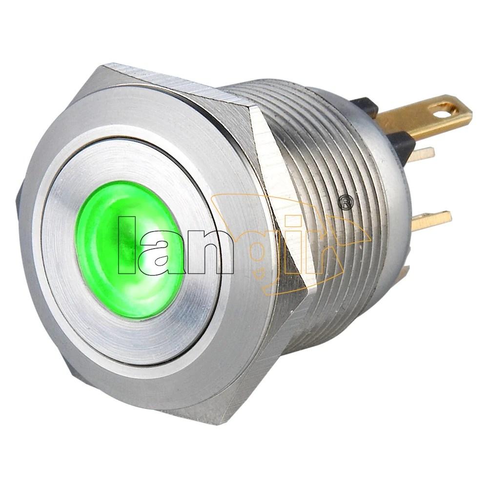 medium resolution of  19mm 1no momentary short stroke 0 5a 24vdc pin terminal illuminated anti vandal switch