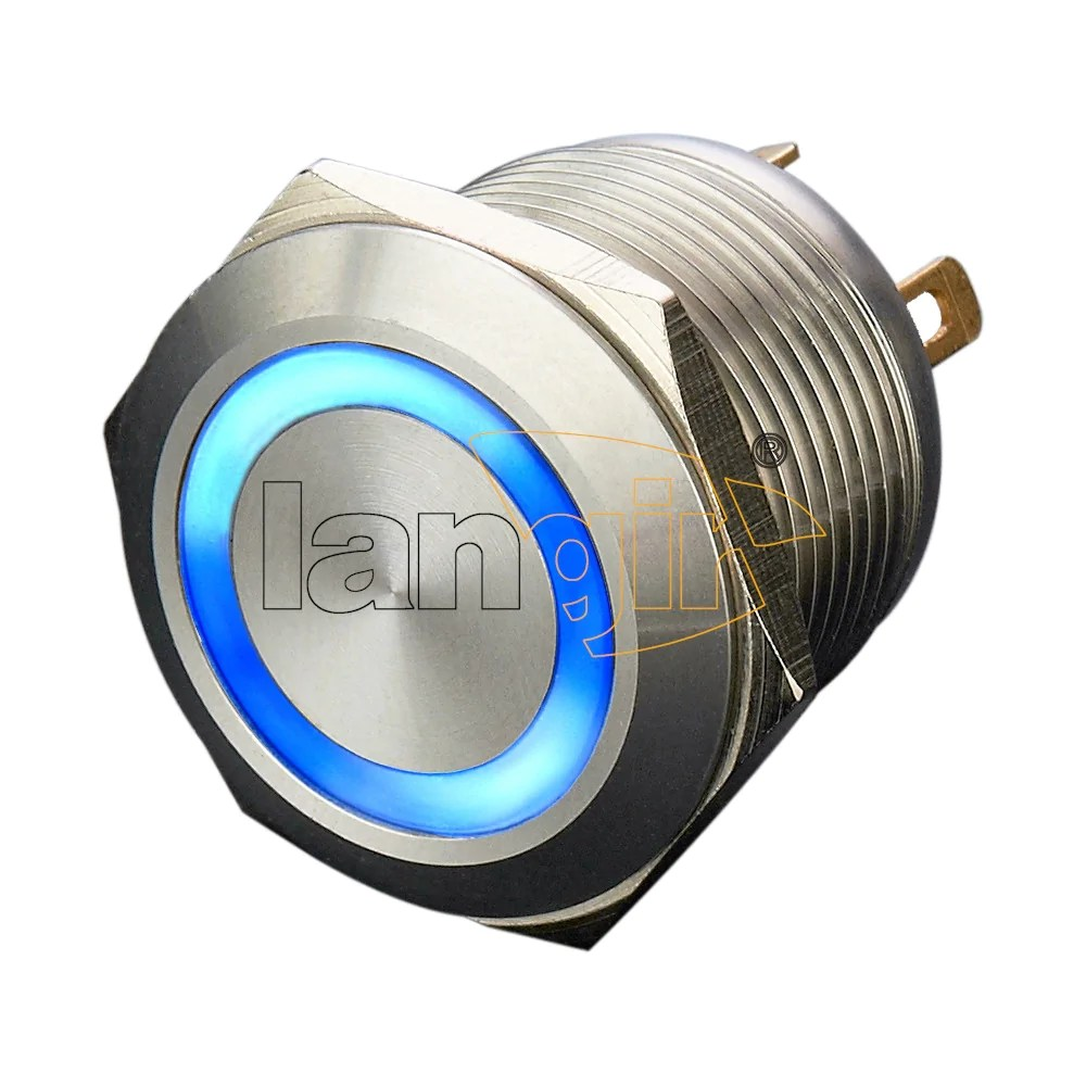 small resolution of  ls19 19mm economy type stainless steel anti vandal switches
