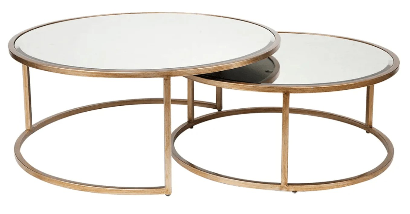 mirrored coffee tables buy online