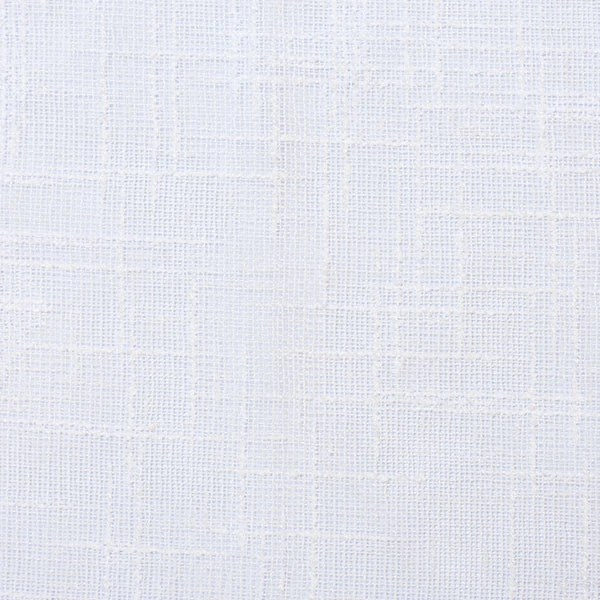 Extra Long Fabric Shower Curtain In White Or Cream With Grey Stripe EMILY ELLINGWOOD DESIGNS