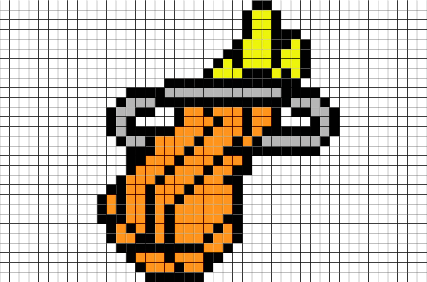 NBA Miami Heat Pixel Art BRIK