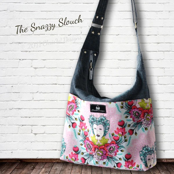 Snazzy Slouch - ChrisW Designs For Unique Designer Bag Patterns - 1