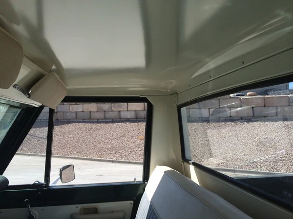 Half Cab Headliner ON BACKORDER  The Bronco Hut