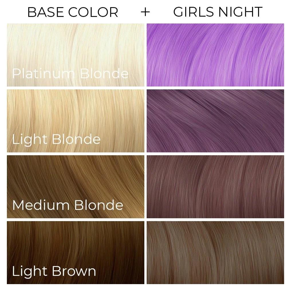 girls night pastel purple arctic