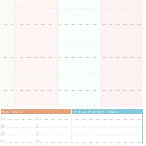 also weekly planner laminated wall chart rh butlerandhill