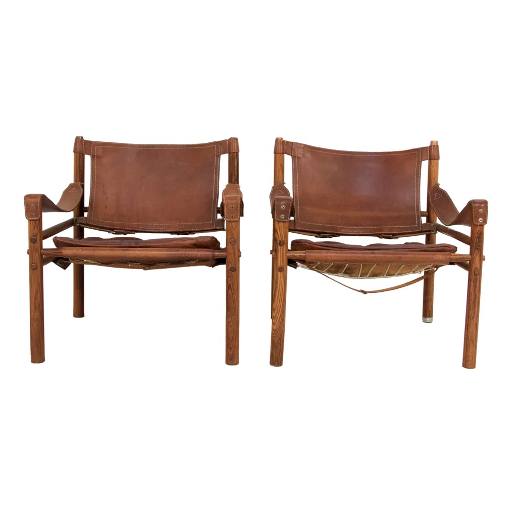 Safari Chairs 108 Pair Of Safari Chairs By Arne Norell Liefgallery