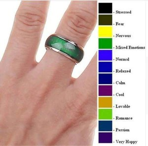 Emotion feelings mood ring also  clever clad rh cleverclad