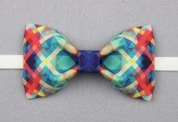 Crazy Bow Tie   Fun Color Pattern - ChicerMan
