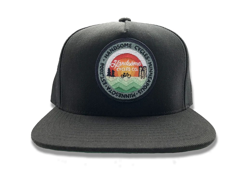 handsome cycles classic snapback