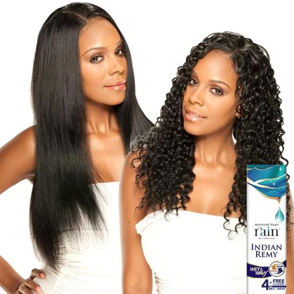 moisture remy rain indian hair