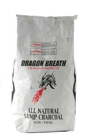 Dragon Breath Lump Charcoal  20 lb bag  Barbecues Galore