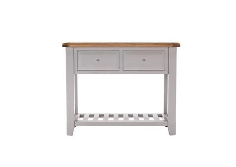 stella sofa table gray color console tables diamond furniture clementine large grey