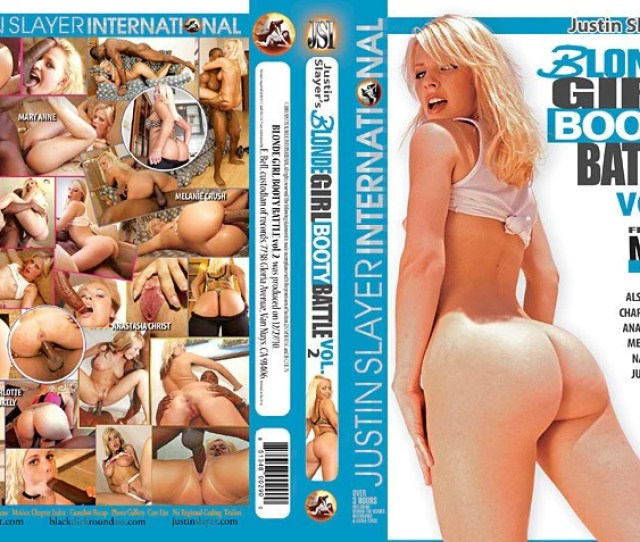 Blonde Girl Booty Battle 2 Justin Slayer Sealed Dvd