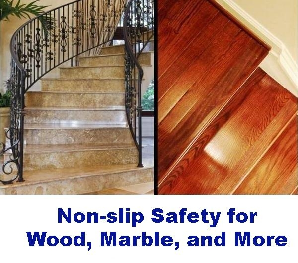 Non Slip Tape For Stairs Clear And Dog Friendly – No Slip Str*P | No Slip Strips For Carpeted Stairs | Stair Nosing | Traction | Non Slip Nosing | Slippery Stairs | Tread Nosing