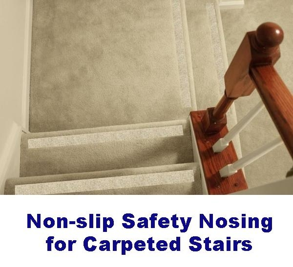 Non Slip Carpet Safety Strips For Carpeted Stairs – No Slip Str*P | Fixing Carpet On Stairs | Wood | Staircase | Runner | Stair Nosing | Install
