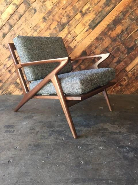 z chair mid century best fishing bed uk custom selig style the hunt vintage