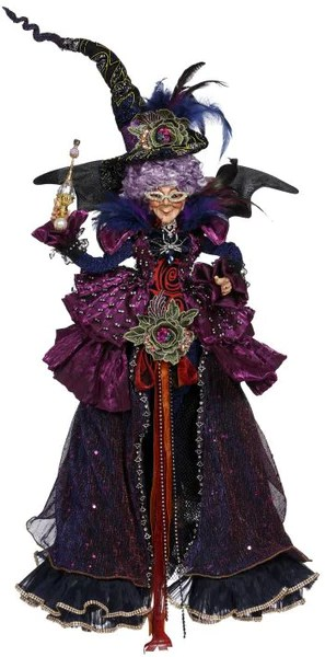 Mark Roberts Halloween Princess Witch Large Purple Witches Theholidaybarn Com
